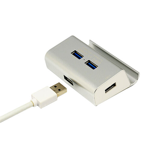 USB Card Reader USB 3.0 Hub 3 Ports with SD TF MS M2 Card Adapter NEW