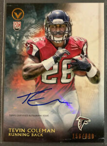 Tevin-Coleman-Valor-Rookie-Auto-800-49ers-Hot-Cheap