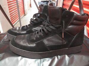men's coach high top sneakers