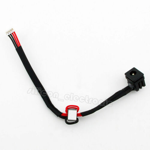 AC DC POWER JACK HARNESS for TOSHIBA SATELLITE C655-S5132 C655-S5137 C655D-S5048