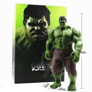 Huge-Size-42CM-16inch-Hulk-Marvel-Figure-Avengers-Action-Legends-Super-Hero-Toy