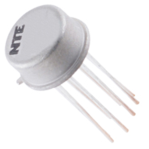NTE Electronics NTE704 IC TV SOUND IF AMP 10-LEAD METAL CAN VCC=5.5V TYPICAL