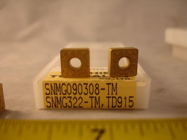 SNMG 322 TM TD915 TOSHIBA TUNGALY (10) NEW INSERTS (1429)