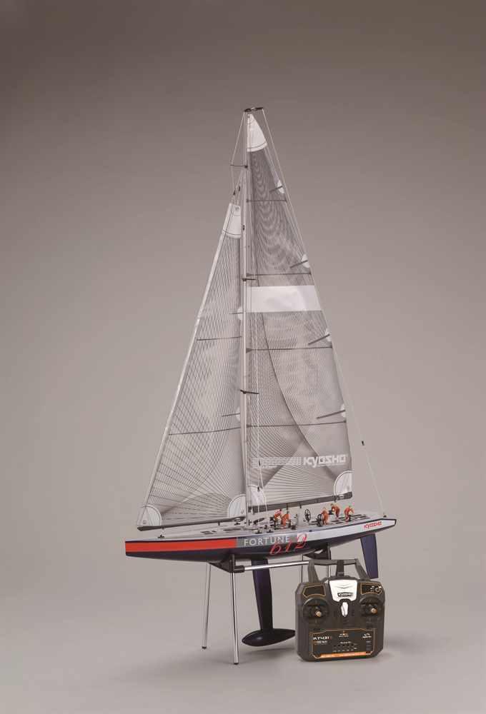 Kyosho Rc Nave a Vela Barca Fortuna 612 II Completo Pronto Set  40042S
