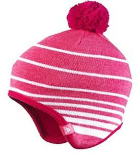 ADIDAS-kids-Stripy-BEANIE-HATS-amp-SCARVES-TUBES-Pink-Blue-CLIMAWARM-New
