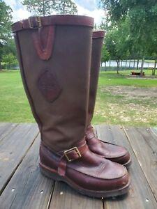 Chippewa Cutter MoccToe Snake Boots 23922 / 23923 Size 8 D Men's