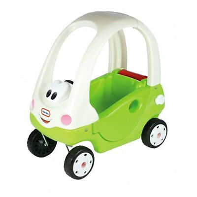 Little Tikes XCL172779E3 Grand Cozy Coupe Ride In Car Toy Green White