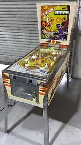 El Dorado Pinball Machine Coin Op Gottlieb 1975 Free Shipping