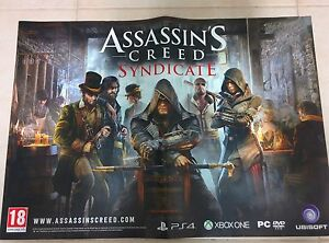 Details about Assassin's Creed Syndicate Poster PS4 XBOX PC New Collectors  59 X 42 Free Ship