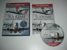 SUPREME AIRLINER COLLECTION Pc Add-On Flight Simulator Sim 2004 & X FSX FS2004