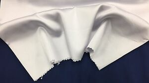 White-60-inch-2-Way-Stretch-Charmeuse-Satin-super-Soft-Silky-Satin-by-The-Yard