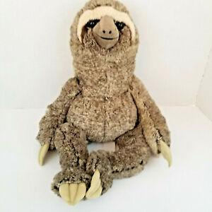 Hug-Fun-Hugfun-Stuffed-Three-Toed-Sloth-Plush-Sleepy-Time-18-034-HTF-RARE