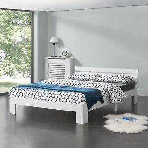 en-casa-Holzbett-140x200cm-Bettgestell-Bett-Doppelbett-Kiefer-Jugendbett-Weiss