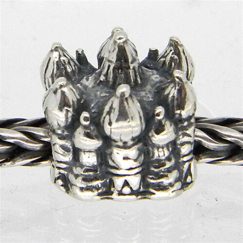 ST.BASILIO CATHEDRAL AUTHENTIC 925 STERLING SILVER EUROPEAN CHARM BEADS TS 099