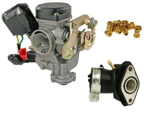 Vergaser 19mm Sport Baotian BT49QT 2C Falcon 3 6A1 6B1 6B4 7A 7B 9F 9F1 9R1 9R3
