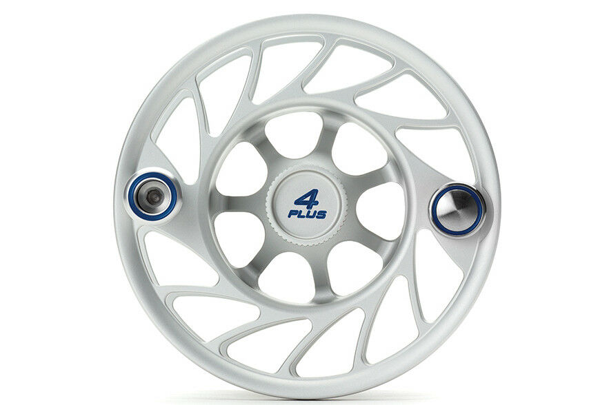 Hatch Gen 2 Finatic Extra Spool - Größe 4 Plus Mid Arbor - Clear Blau - New