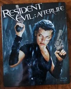 Resident Evil Afterlife 2010 Blu Ray Steelbook Edition Used Good Condition 6 Ebay