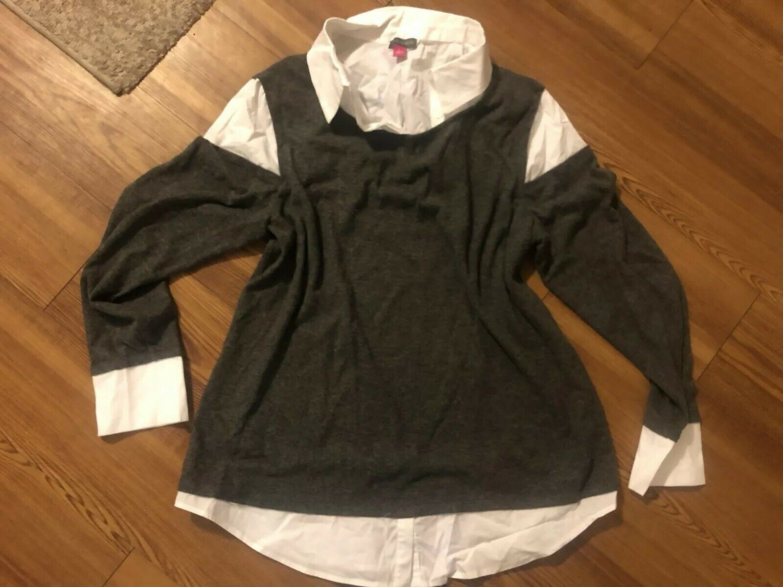 Vince Camuto Sweater Blouse Size L