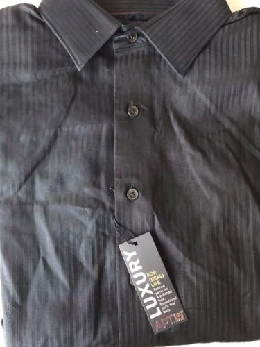 APT 9 Mens Dress Shirt Modern Fit Luxury Striped NWT