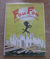 FOU FOU DISCOVERS AMERICA - Jean de Botton 1st HCDJ 1945 -Children's dog Poodle