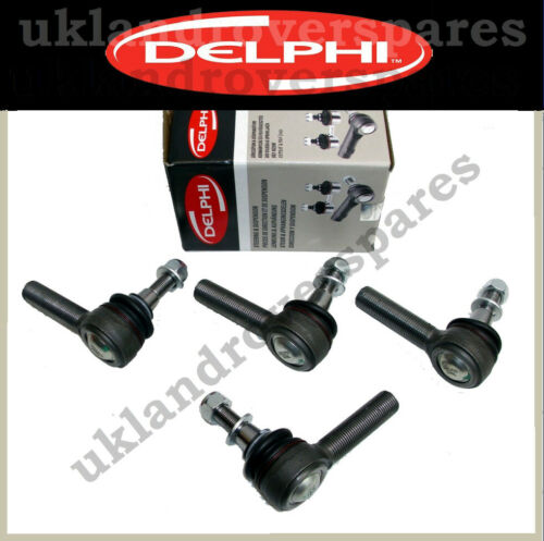 SET OF 4 RTC5869//70 RANGE ROVER CLASSIC TRACK ROD END DELPHI OEM BALL JOINTS