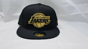 NEW-ERA-9FIFTY-SNAPBACK-HAT-NBA-LOS-ANGELES-LAKERS-BLACK