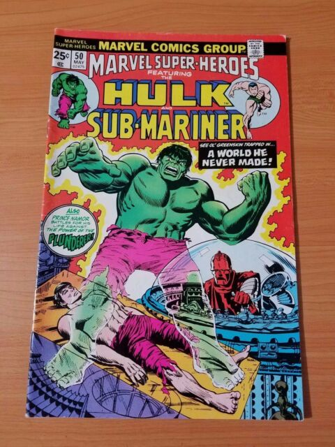 Marvel Super-Heroes #50 ~ VERY FINE VF ~ (1975, Marvel Comics)