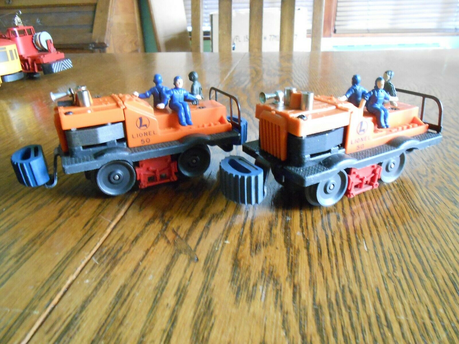 Two Lionel No. 50 Gang Cars - Completely Original