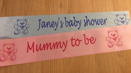 grand-mère pour être sœur d/'être 8 personnalisé bébé rubans-Maman à être