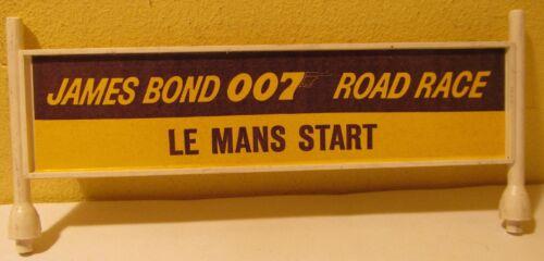 Gilbert O Gauge James Bond Le Mans Start Billboard for Road Race Set, O Scale