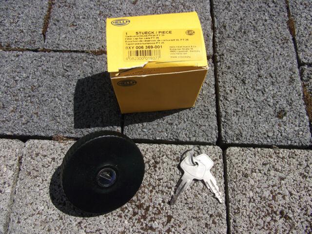 Hella PT 26 8XY 006 369-001 Tankdeckel mit 2 Schlüsseln neu & ovp