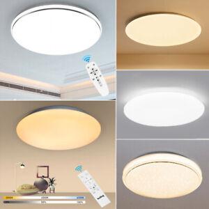 Ultraslim LED Dimmbar Deckenleuchte Badleuchte Küche Deckenlampe Wohnzimmer