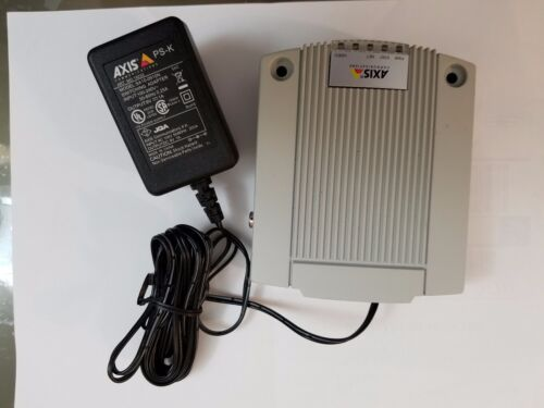 Used AXIS COMMUNICATIONS INC 0319-004 P7701 1CH DECODER H.264 ps-k power adapter