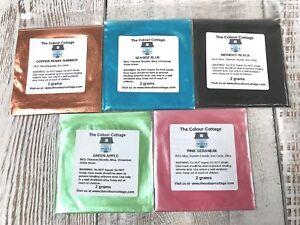 Mica-Powder-5-Pk-Sample-Shimmer-Pigment-for-Epoxy-Resin-Art-Soap-2g-Pks-C2