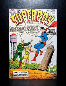 COMICS-Superboy-100-1962-1st-Dr-Xadu-Erndine-Ze-Da-app-Anniversary-Issue
