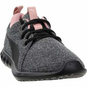 Puma-Carson-2-Knit-Casual-Running-Shoes-Black-Womens