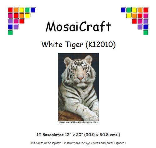 "Mosaicraft pixel Craft MOSAICO Art Kit /'TIGRE BIANCA /""pixelhobby"