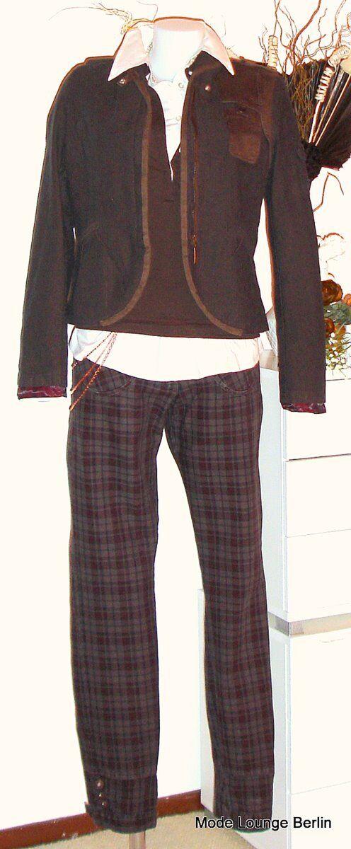 NTS Not the Same - Trousers & Chain - Denni Cotton - gr. 38 M - Neu