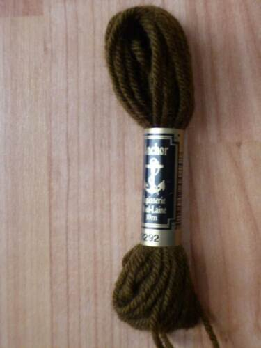 Anchor Tapestry Wool Shade Numbers 9104-9328   One Skein £1.10; 15/% Off 2+