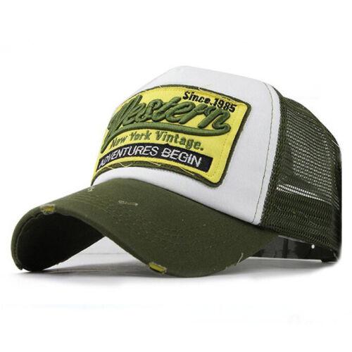New Mens Womens Baseball Cap Hip-Hop Hat Adjustable Snapback Sport Bboy Unisex