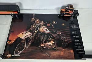 NOS-Harley-Davidson-1997-FLSTS-HERITAGE-SPRINGER-SOFTAIL-POSTER-Man-Cave-Garage