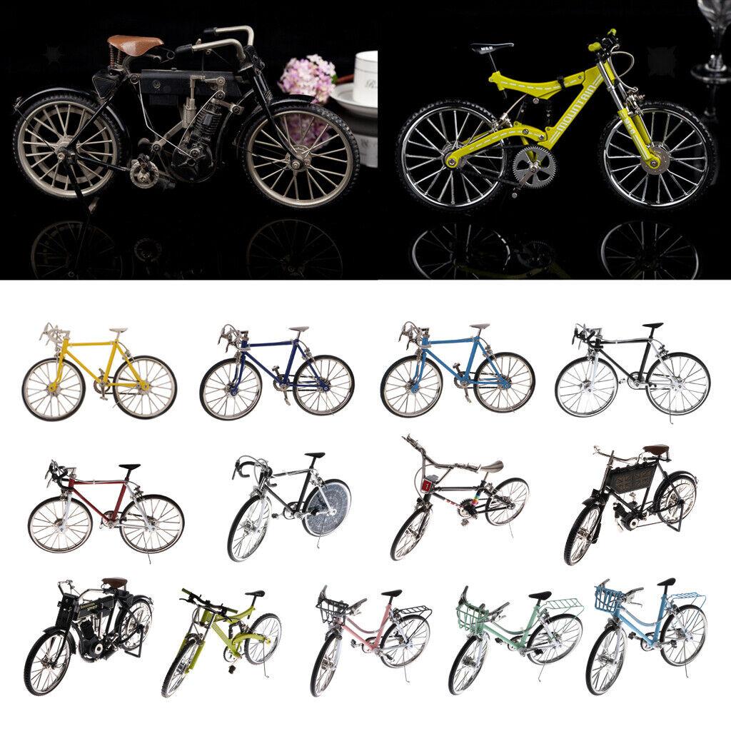 1 10 Scala Lega Bicicletta da Corsa modellolo OPERA D'ARTE CREATIVA Scrivania Decorazione