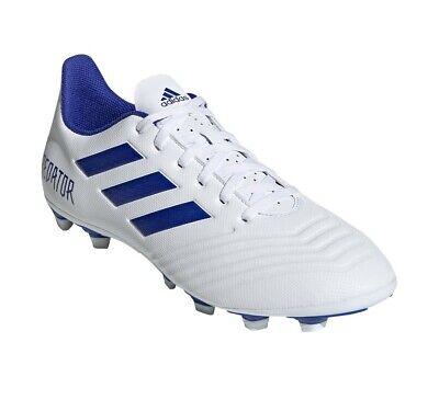Adidas Hombre Zapatos Fútbol Depredador 19.4 Flexible Suelo Botas D97959 Nuevo | eBay