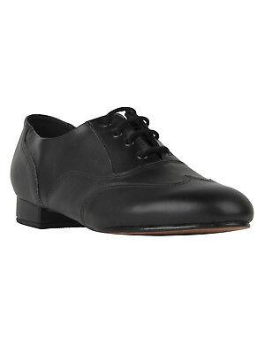 ARIS ALLEN Herren Schuh Swing Balboa Lindy Hop Tanzschuhe schwarz Wingtip NEU