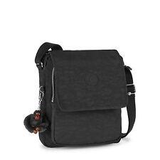 Kipling NETTA Medium Across Body/Shoulder/Messenger Bag BLACK RRP £74