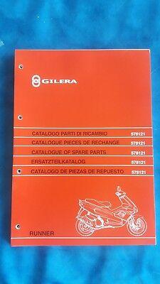 Catalogo Parti Di Ricambio Gilera Runner 2t 1997 578121 Nuovo Piaggio Ciao Si