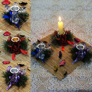 romantic rose tea light candle holder fine wedding xmas party dinner