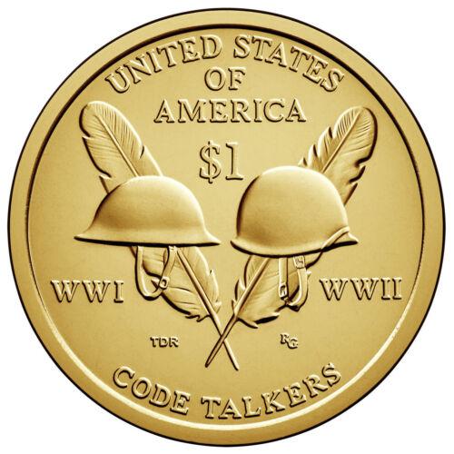 SACAGAWEA DOLLAR P or D 1-COIN BRILLIANT UNCIRCULATED 2016 NATIVE AMERICAN