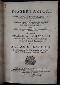 A-Benevoli-Dissertazioni-I-Sovra-l-039-origine-dell-039-ernia-intestinale-1747