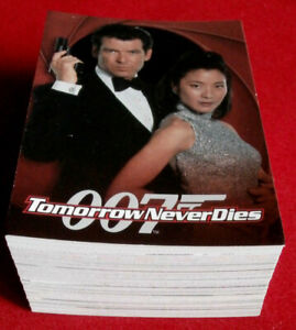 JAMES-BOND-Tomorrow-Never-Dies-Complete-Base-Set-90-Cards-Inkworks-1997
